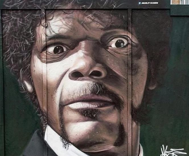 Mural de Samuel L Jackson