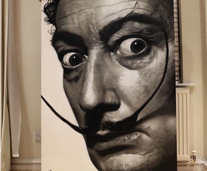 Mural de Salvador Dali