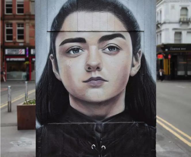 Mural de Game of Thrones