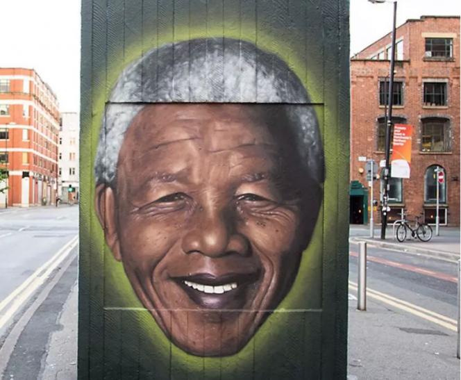 Mural de Nelson Mandela