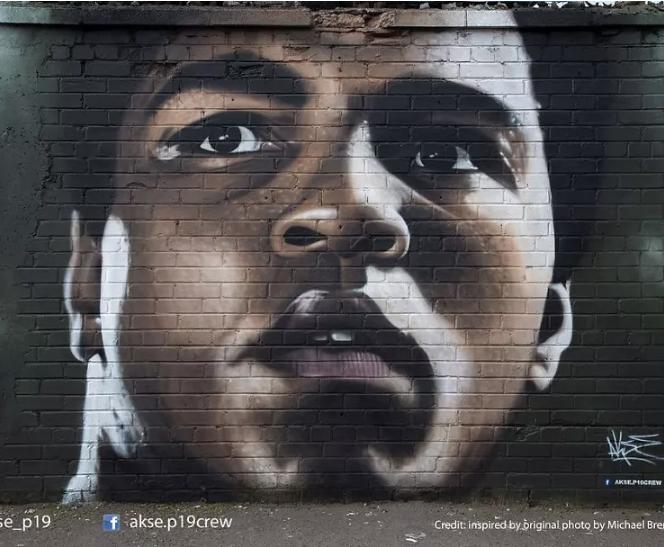 Mural de Mohamed Alí