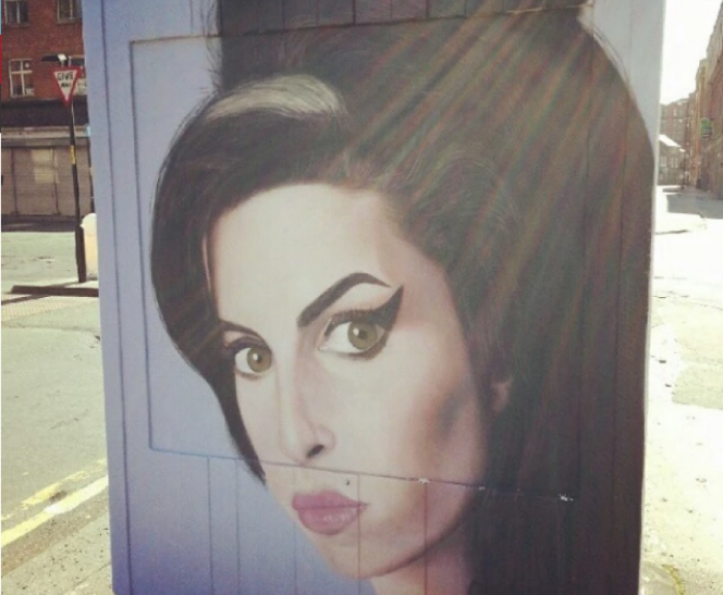 Mural de Amy Winehouse