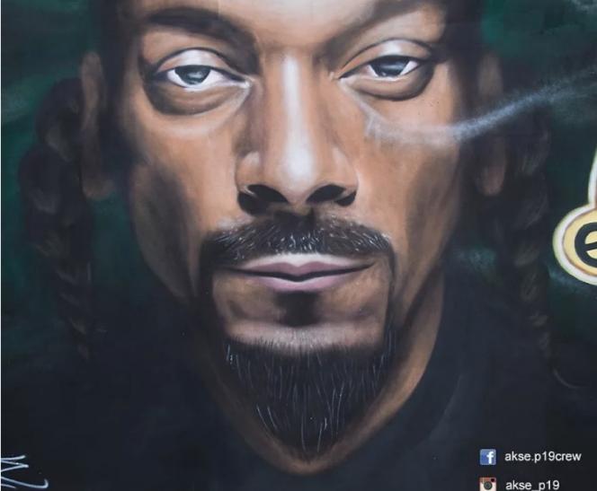 Mural de Snoop Dog