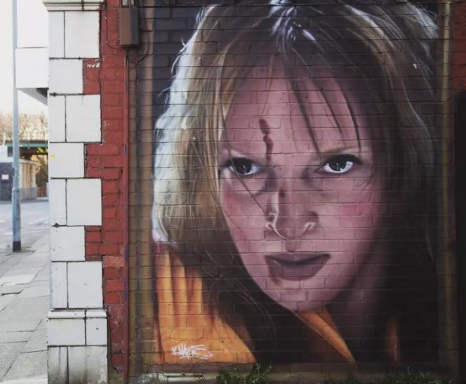 Mural de Kill Bill