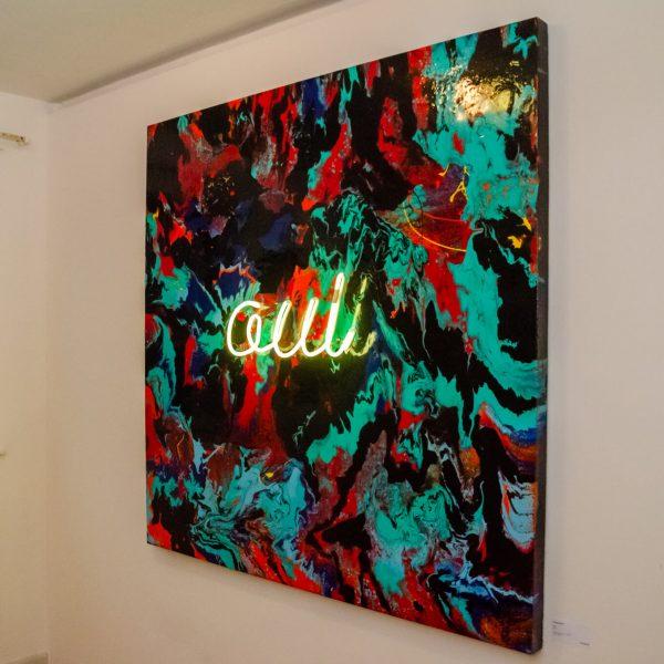 Ζωγραφική της γκαλερί τέχνης