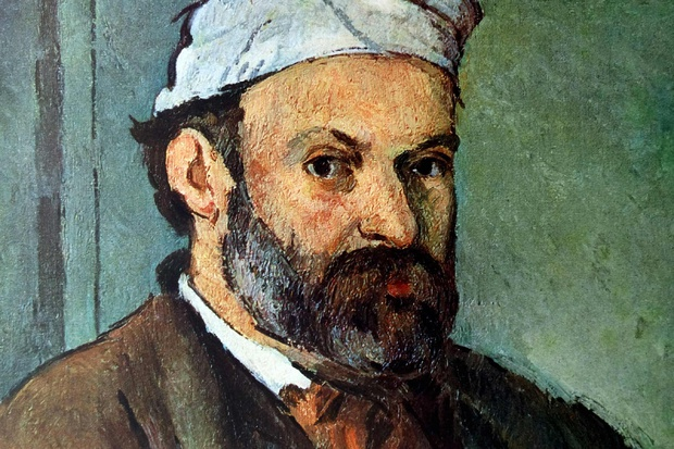 Pintura de Cezanne