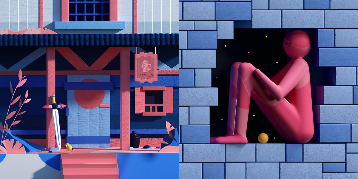 Hus inngang illustrasjon