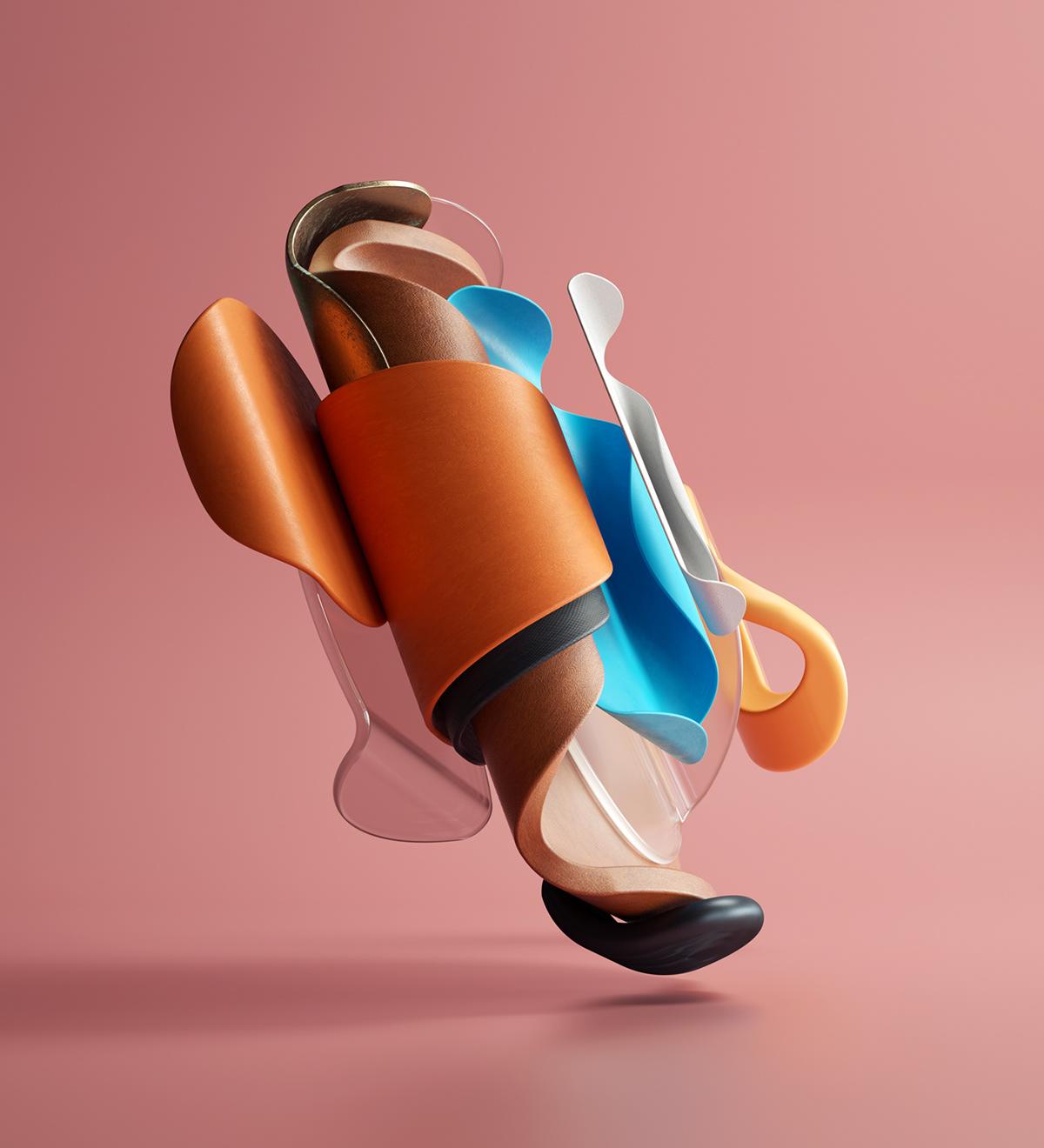 Figur av Omar Aqil inspirert av Picasso