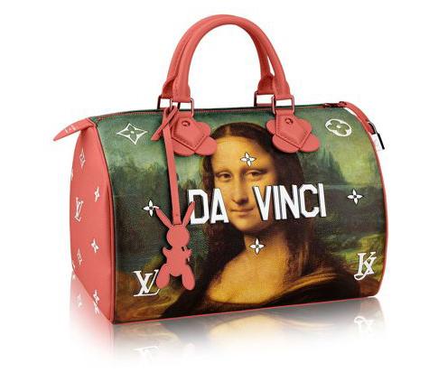 Da Vinci-veske designet av Jeff Koons