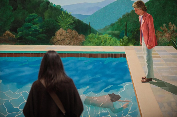 Maleri av David Hockney