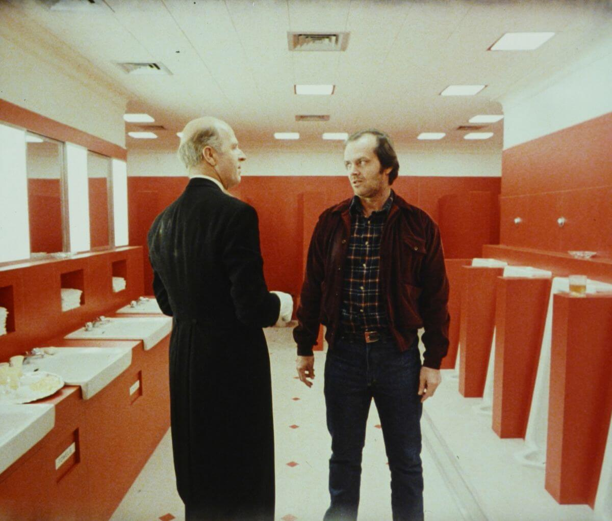 Escena de The shining