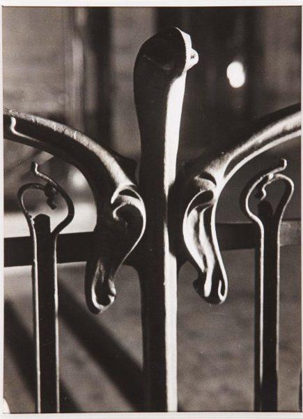 Fotografia de reja de Brassai