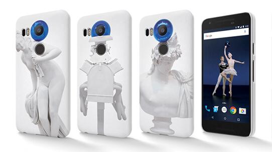 Mobiltelefonvesker designet av Jeff Koons