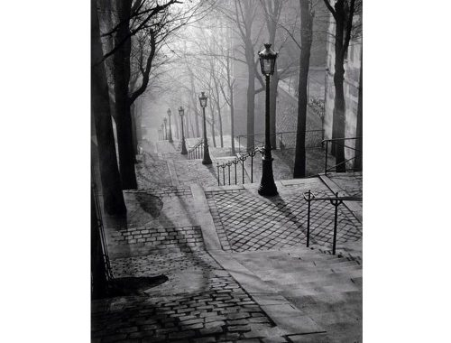 Fotografia de escaleras de Brassai