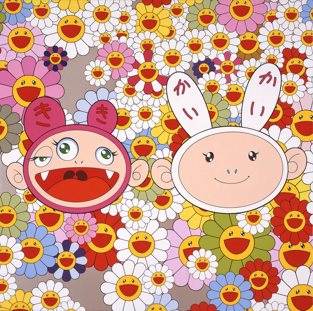 tegneserie av Murakami