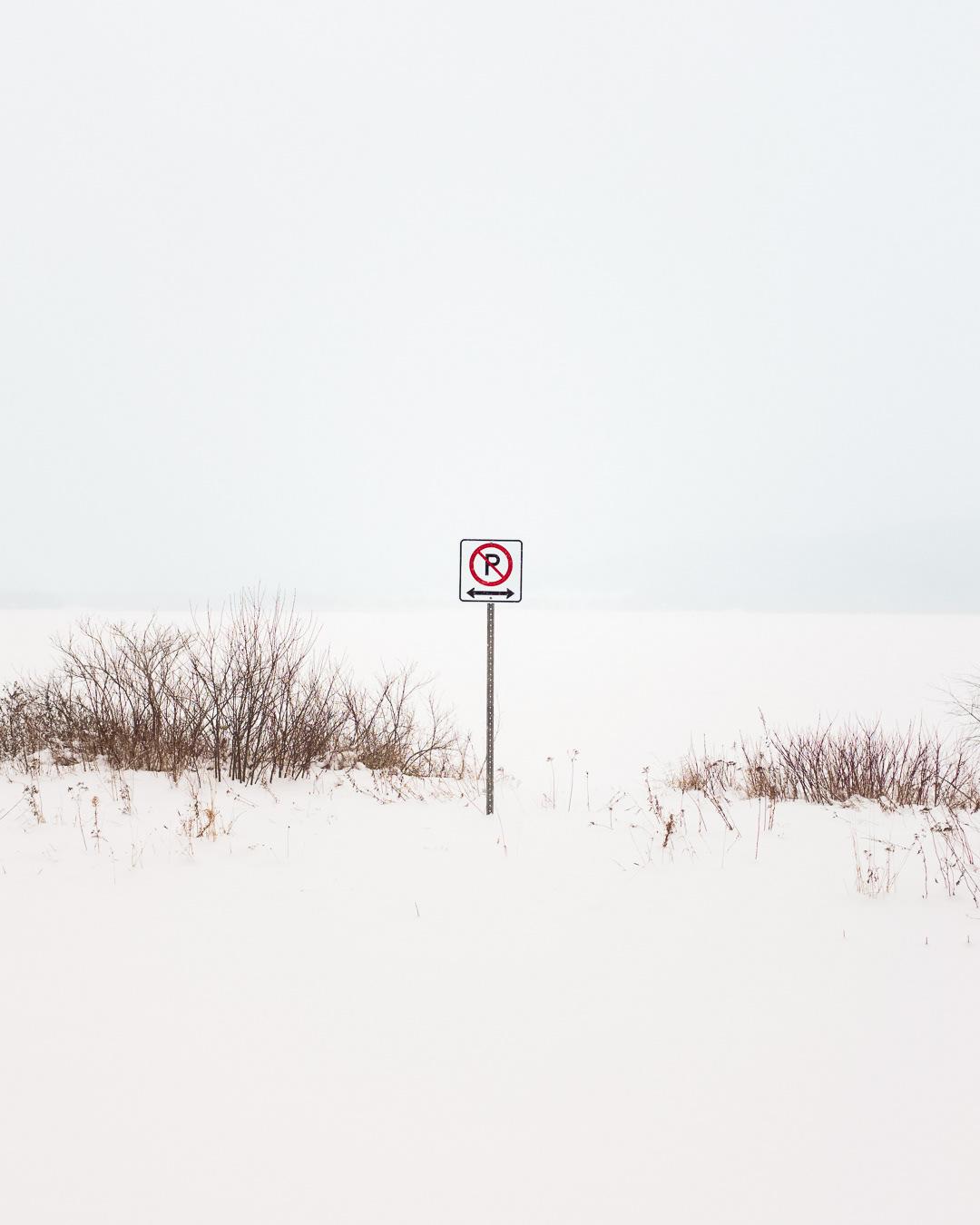 बर्फ में इशारा करना