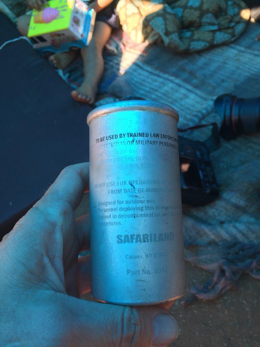 Lachrymal αέριο από την εταιρεία Safariland