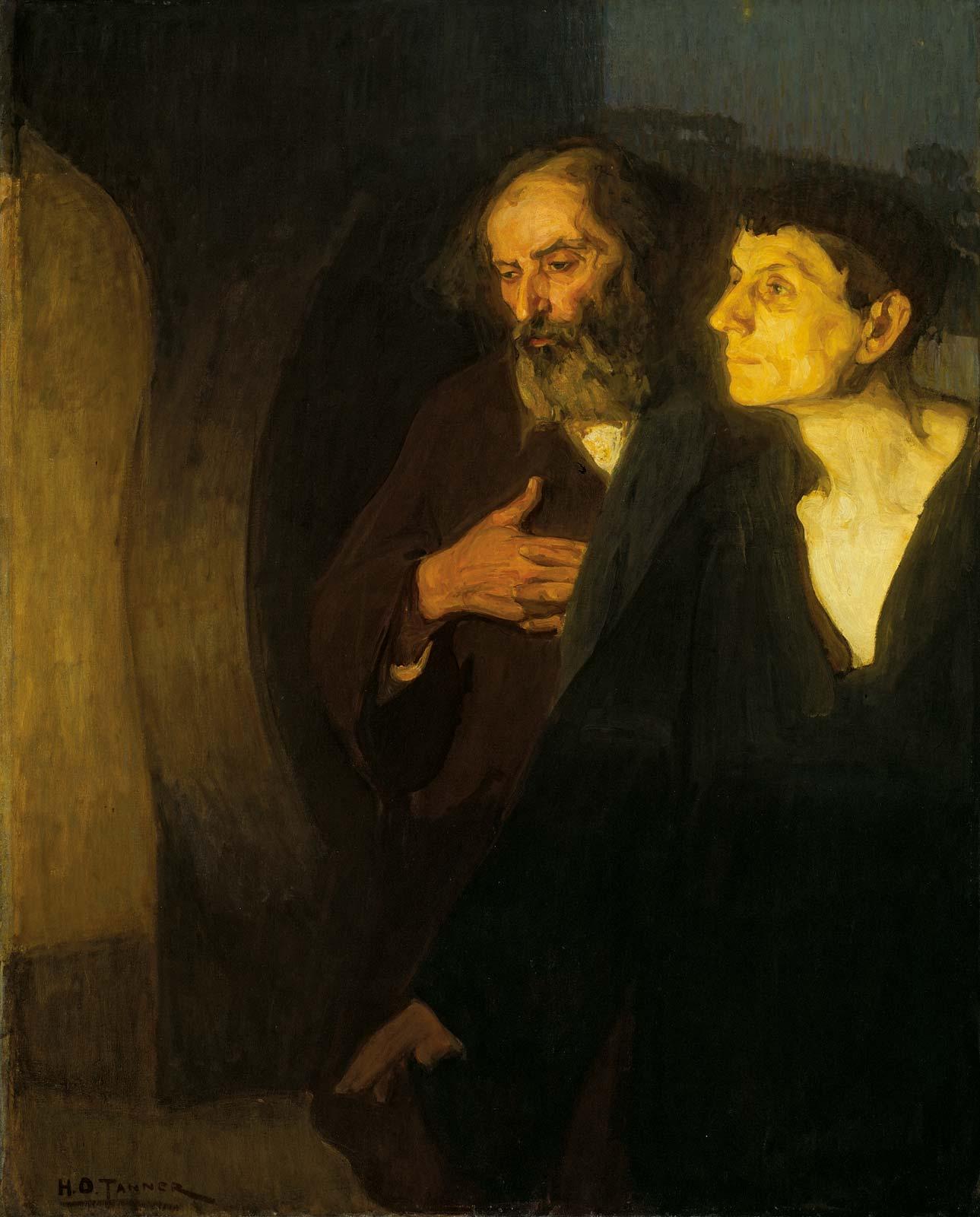 Pintura de tema católico de Edward Mitchell