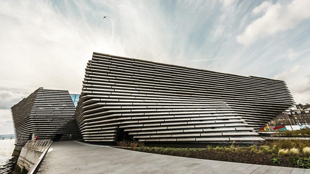 Foto van het V & A Dundee-museum