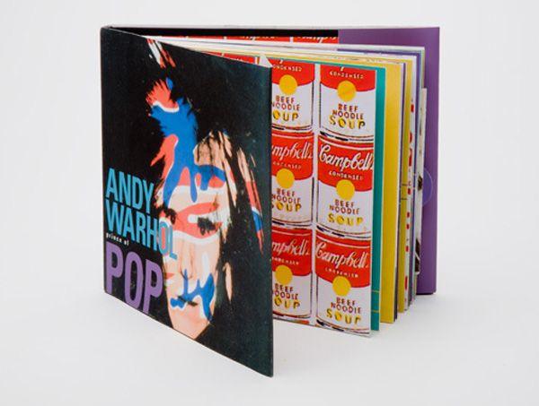 Libro de arte de Warhol
