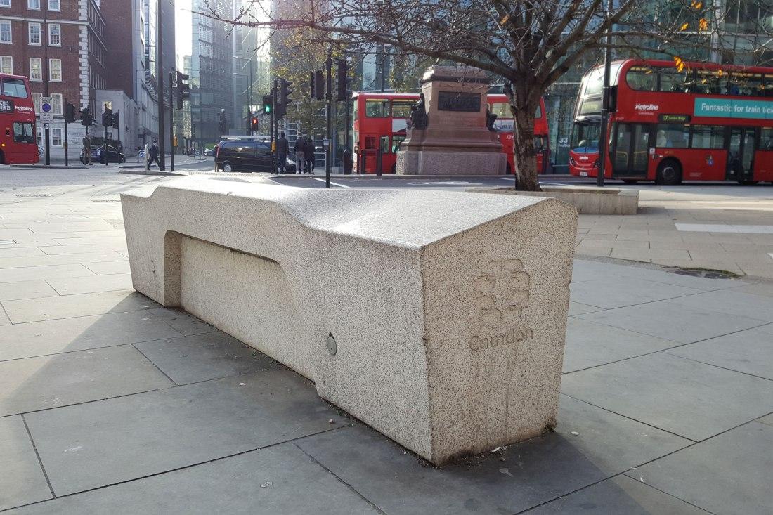 banca de concreto