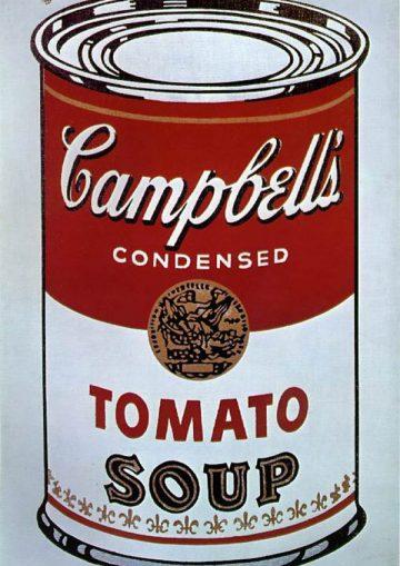 Lata Campbells de Andy Warhol