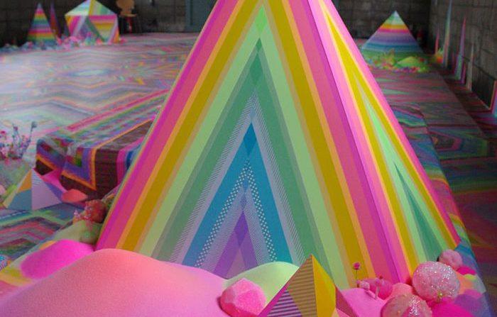 मीठे का पिरामिड