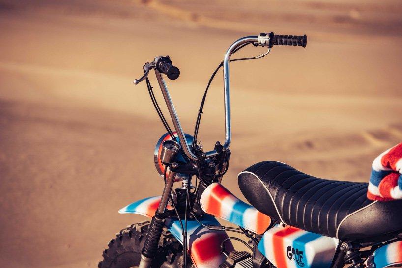 Sykkel-sykkel sete til stranden