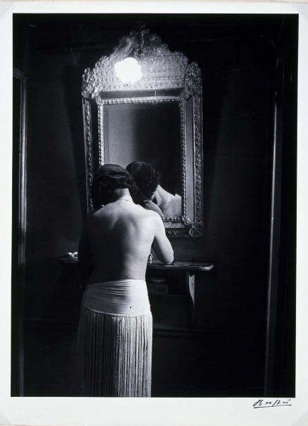 Prostituta fotografiada por Brassai