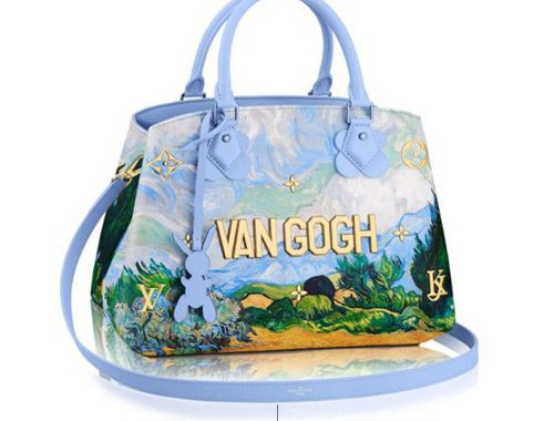 Bolsa diseño de van Gogh de Jeff Koons