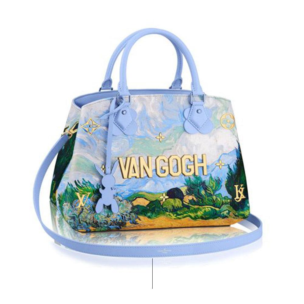 जेफ कॉन्स द्वारा बैग डिजाइन वैन गॉग