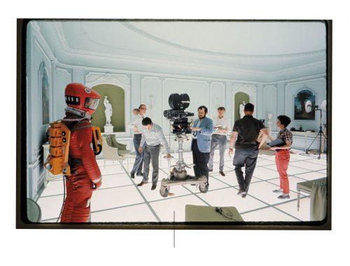 Stanley Kubrick skyter en Space Odissey