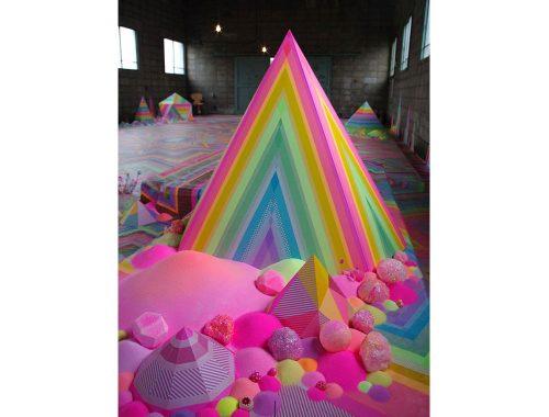 Piramide de caramelo por Tanya Schultz