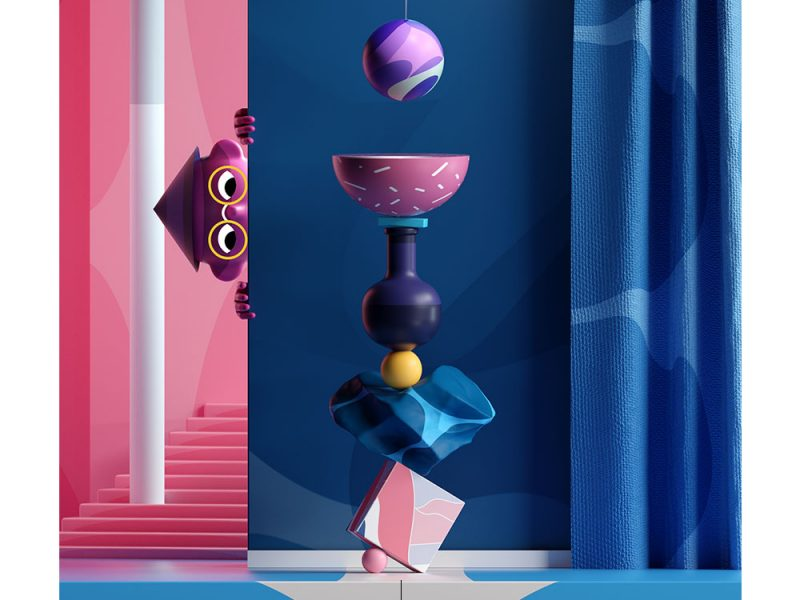 Mathieu LB的3D插图