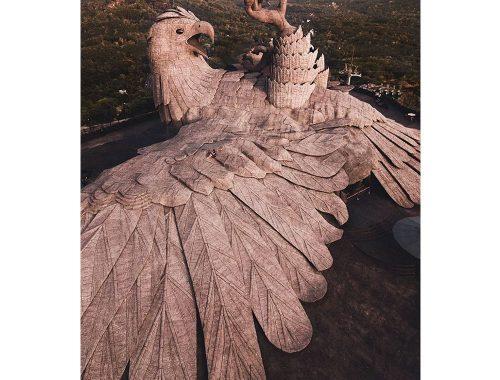 Escultura de aguila