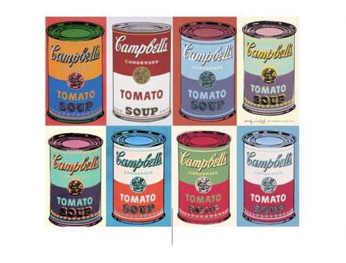 Obra Soup de Warhol