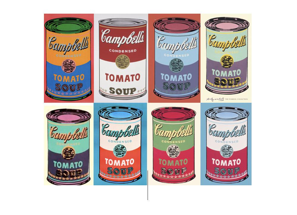Werk Soup de Warhol