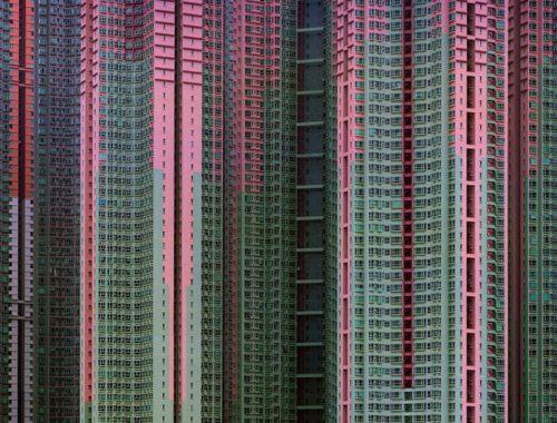माइकल वुल्फ द्वारा ली गई हांगकांग की इमारतें