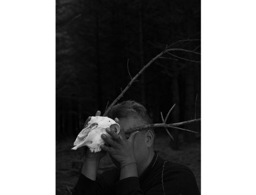 डैनियल ऑरलैंडो लारा द्वारा खोपड़ी वाला आदमी