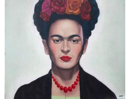 Mural de Frida Kahlo