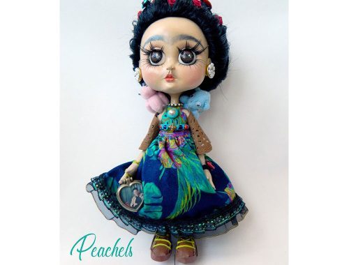 Muleca τεχνίτης της Frida Kahlo