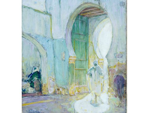 Pintura de Henry Ossawa Tanner