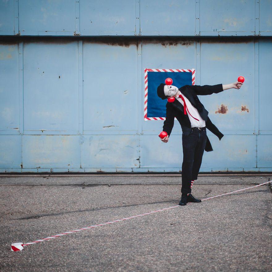 Malabarista de circo