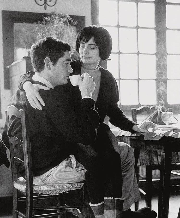 Agnès Varda en haar tweede echtgenoot met Jacques Demy