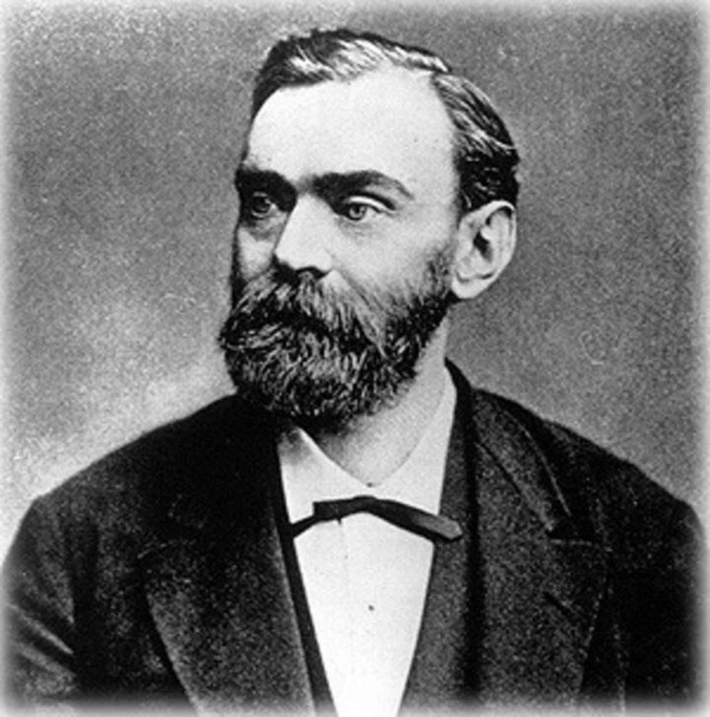 Ο εφευρέτης της πυρίτιδας, ο Άλφρεντ Νόμπελ