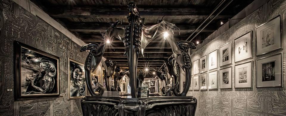 Έκθεση στο Μουσείο HR Giger στην Ελβετία