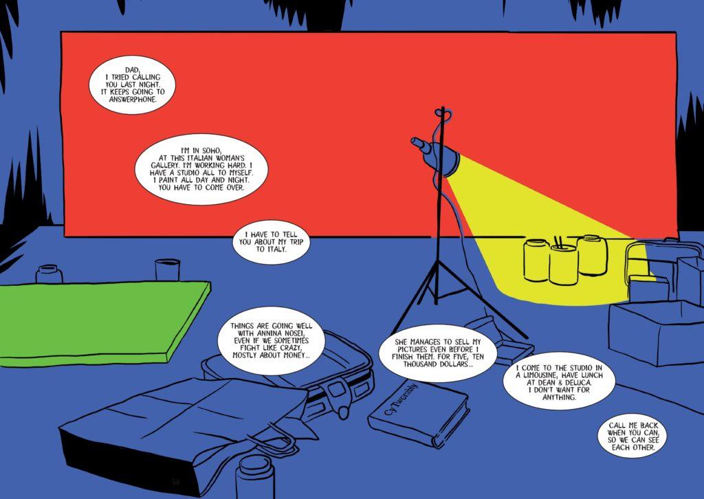 La novela gráfica de Basquiat detalla la vida del artista