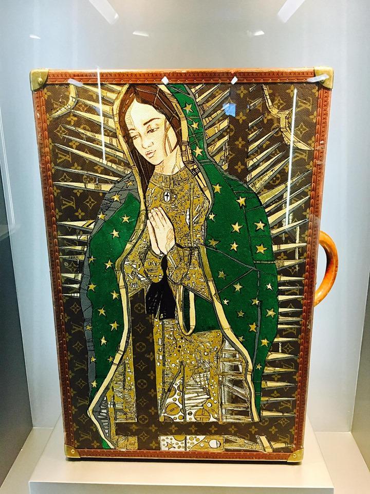 Virgen de Guadalupe Louis Vuitton