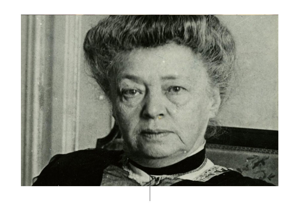 The first woman to obtain a Nobel Peace Prize, Bertha Von Suttner