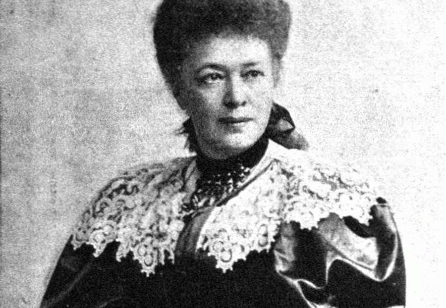 Η βαρόνη Bertha von Suttner, νικητής του πρώτου βραβείου Νόμπελ Ειρήνης